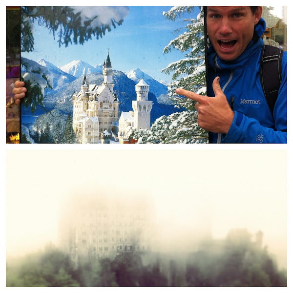 Photo: Neuschwanstein Castle - How it should look and how they saw it.