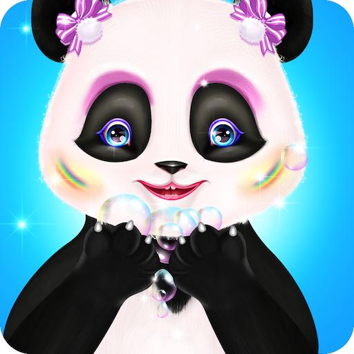 Cute Panda Care Fashion Resort