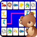 Connect Animals : Onet Kyodai (puzzle tiles game) icon