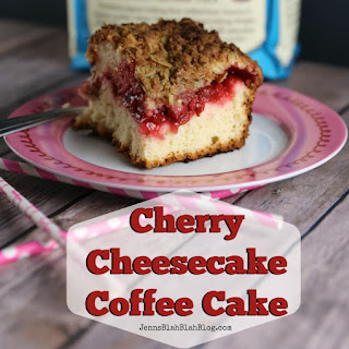 Cherry Cheesecake Coffee Cake.
