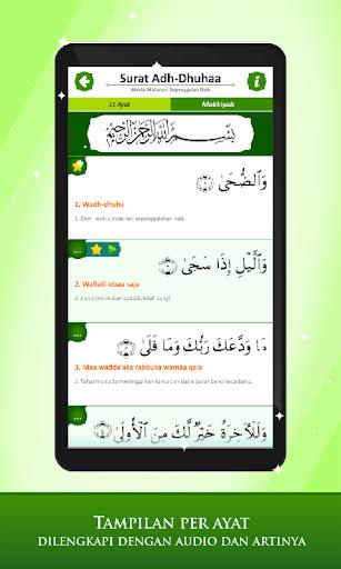 marbel juz amma lengkap terjemahan dan audio screenshot 3