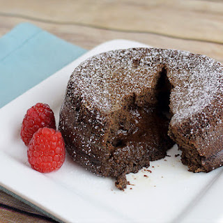 Keto Lava Cake - Printer Friendly