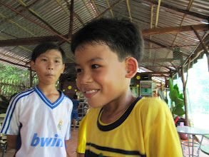 Photo: Year 2 Day 32 - Kids at the Soccer Cafe
