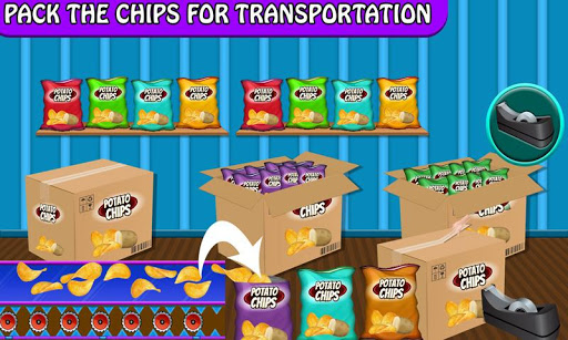 Crispy Potato Chips Maker Factory u2013 Snacks Making 1.0 screenshots 9