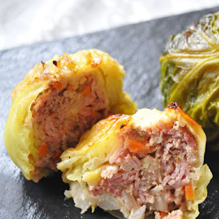 Stuffed Savoy Cabbage Rolls