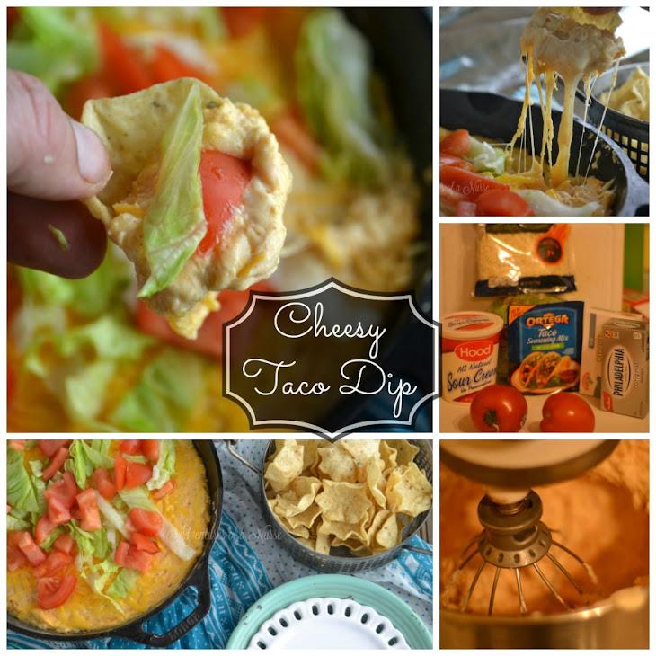 Cheesy Skillet Taco Dip Recipe