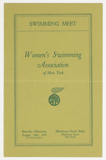 Swimming Meet, Women's Swimming Association of New York Cover Page