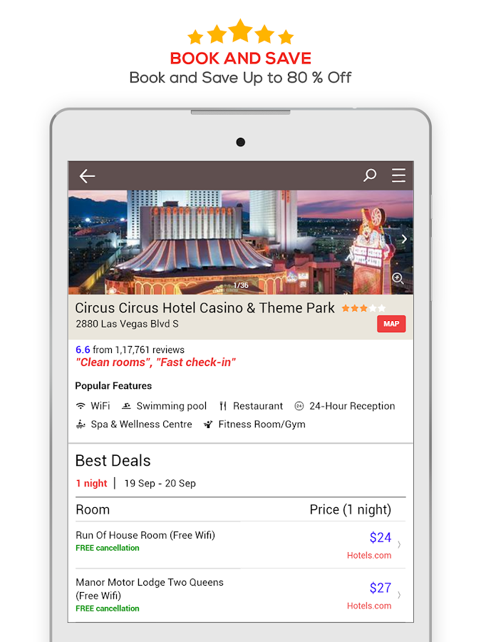 HOTEL DEALS- screenshot