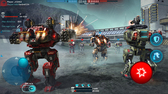 Robot Warfare: Mech Battle 3D PvP FPS (Mod apk+obb) 5