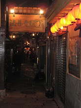 Photo: Small alleys behind the main entertainment walking street.