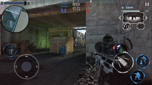Multiplayer shooting arena A2S2K  trampa 6