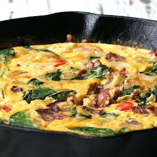 Easy Breakfast Frittata.