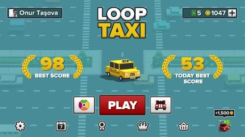Screenshot 2 Loop Taxi 1.52 APK MOD