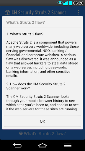 Struts 2 Web Server Scanner screenshot 5