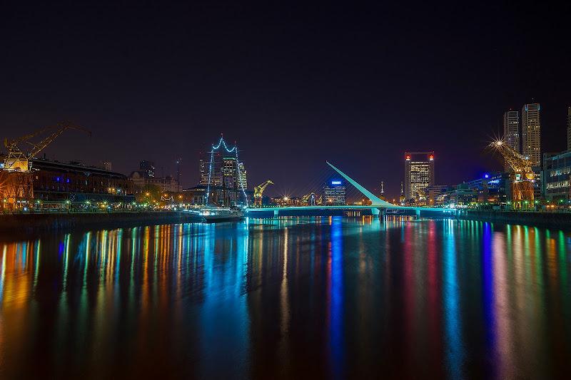 Buenos Aires: Puerto Madero e le sue luci di mariateresatoledo