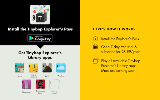 Tinybop Explorer's Pass screenshot