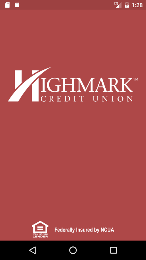 Highmark CU Mobile Banking- screenshot