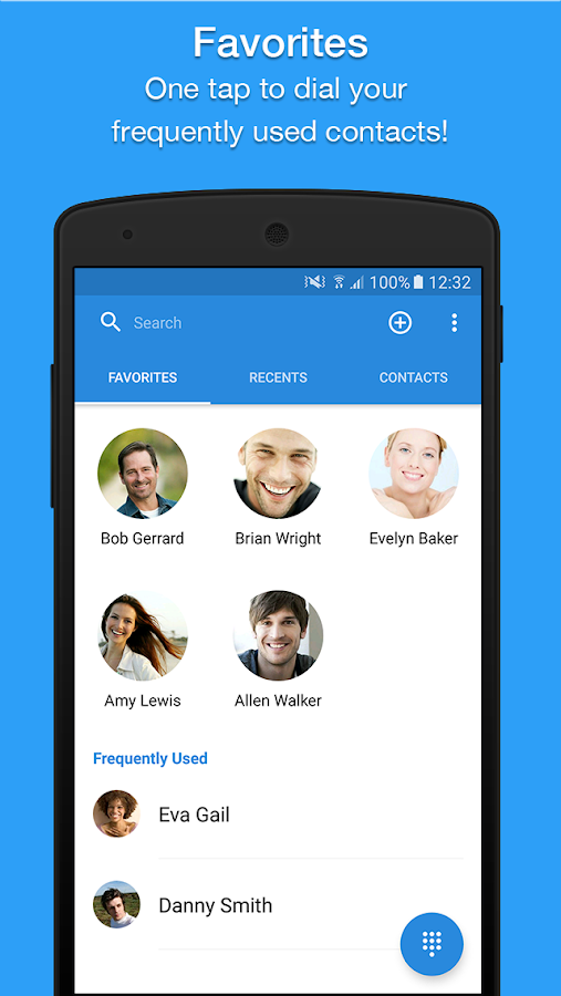 Caller ID, Dialer, Phone & Contacts by Simpler- screenshot