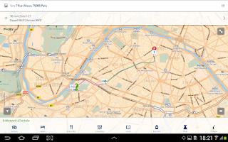 Screenshot of Mappy- Itinéraire & Vie locale
