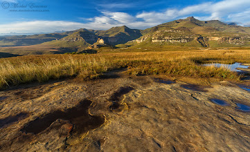 """Photo: """"Magnificent Maluti Mountains"""" Maluti Mountains, Greater Drakensberg Range Golden Gate Highlands National Park, South Africa  Good morning folks! Today's theme for African Tuesday is MAGNIFICENT MOUNTAINS. We want to see all the hills, cliffs and mountains you've photographed in Africa. If you don't have any, all photos from Africa are still welcome, mountains just get extra smiles... To submit your photos to the theme: 1. tag #AfricanTuesday """"Magnificent Mountains"""" 2. include the theme page +African Tuesdayso we can reshare your work 3. include the curators (myself, +Grobler du Preezand +Dick Whitlock)  This lovely morning scene was photographed in the Golden Gate Highlands National Park. The vista you see here overlooks the Maluti mountains, part of the Greater Drakensberg range. Over the mountains you see here lies the Kingdom of Lesotho.  www.morkelerasmus.com  This photo is Copyrighted © Morkel Erasmus Photography.  You may share this image as presented here under the Creative Commons Attribution-NonCommercial-NoDerivs 3.0 licence (CC BY-NC-ND 3.0) http://creativecommons.org/licenses/by-nc-nd/3.0  Submission for: 1. #mountainmonday (+Mountain Monday) by +Michael Russell- a late one! 2. #landscapephotography (+Landscape Photography) by +Margaret Tompkins+paul t beard+David Heath Williams+Carra Rileyetc 3. #hqsplandscape (+HQSP Landscape) by +Delcour Eric+Rinus Bakker+John Minor+Carina Marsh+Blake Harrold 4. #pixelworld +PixelWorld 5. #plusphotoextract by +Jarek Klimek 6. #potd by +Colby Brown  #mountains  #landscape  #nature  #SouthAfrica  #maluti  #Drakensberg"""