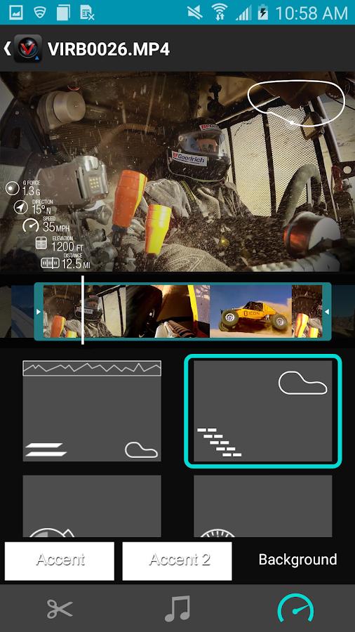 Garmin VIRB - screenshot