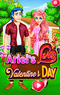 ariel's in love game girl - náhled