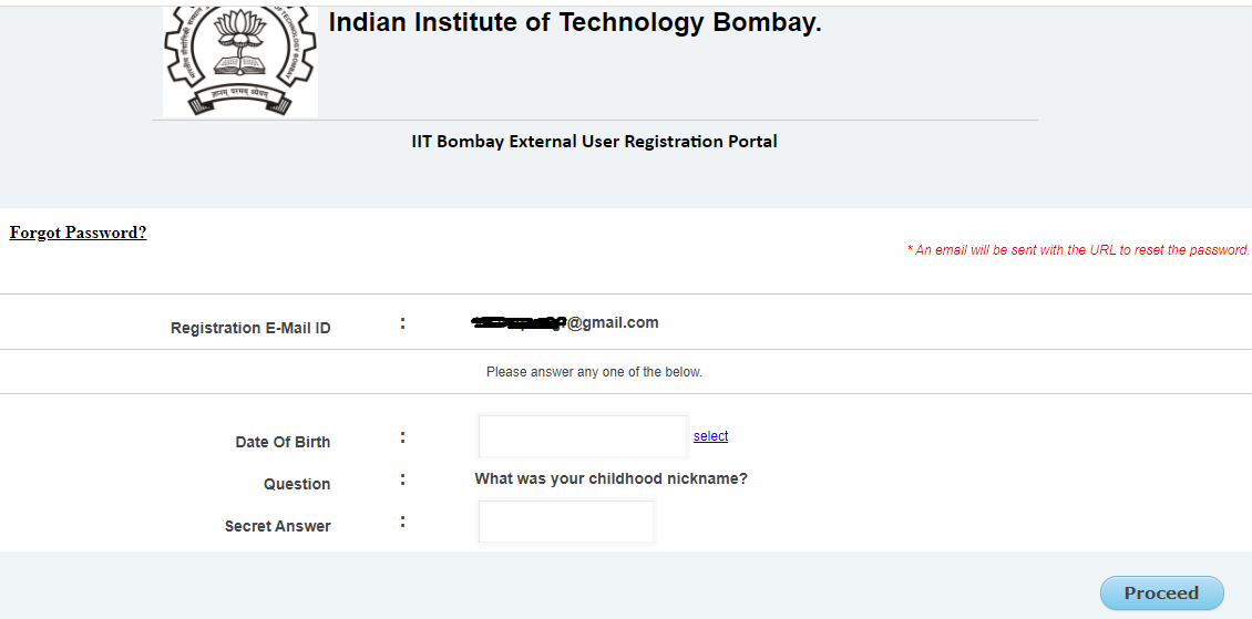 Check Details Printed on CEED 2022 Admit Card
