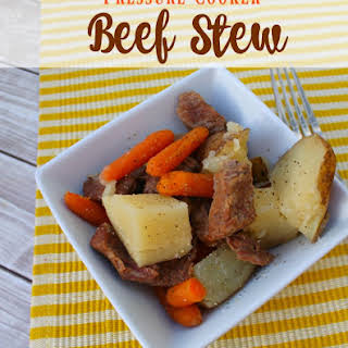Pressure Cooker Beef Stew.