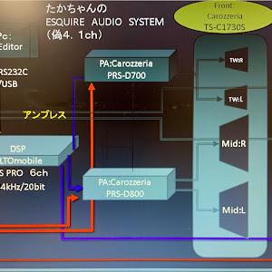 エスクァイア ZRR80Gのカスタム事例画像 たかちゃんさんの2021年10月19日16:54の投稿