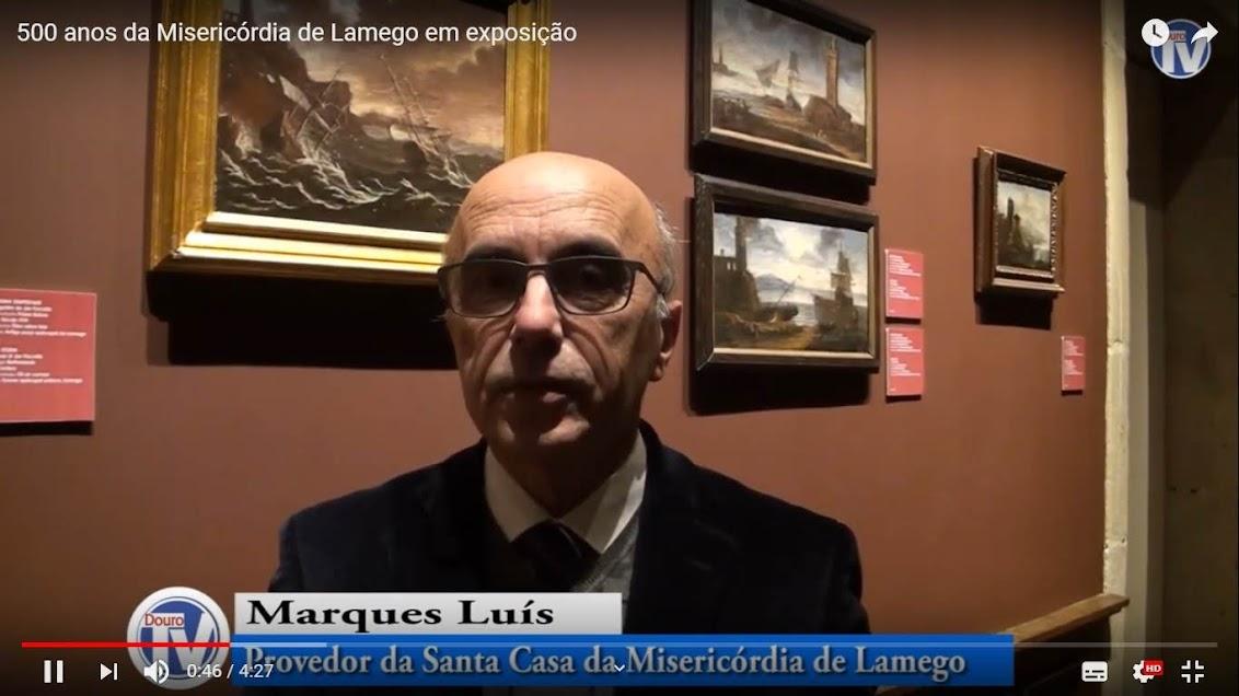 Vídeo - 500 anos da Misericórdia de Lamego em exposição