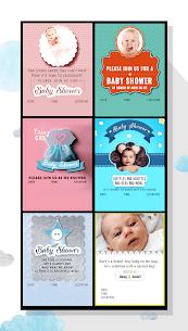 Baby Shower Invitation Card Maker 7