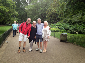 Photo: Andy, Louise, Mike and Naomi