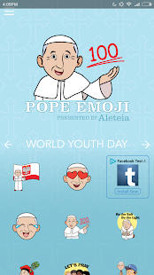 Pope Emoji- screenshot thumbnail