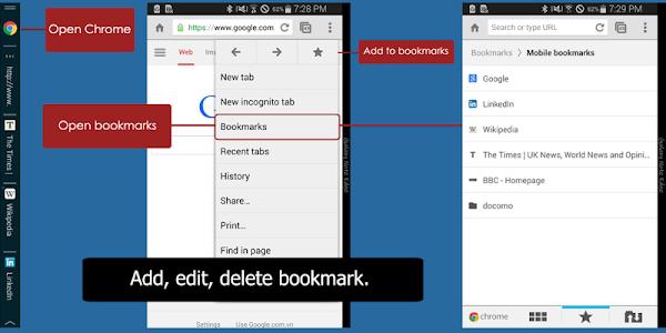 Bookmarks for Note Edge v1.0