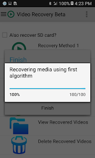 Video Recovery Screenshot