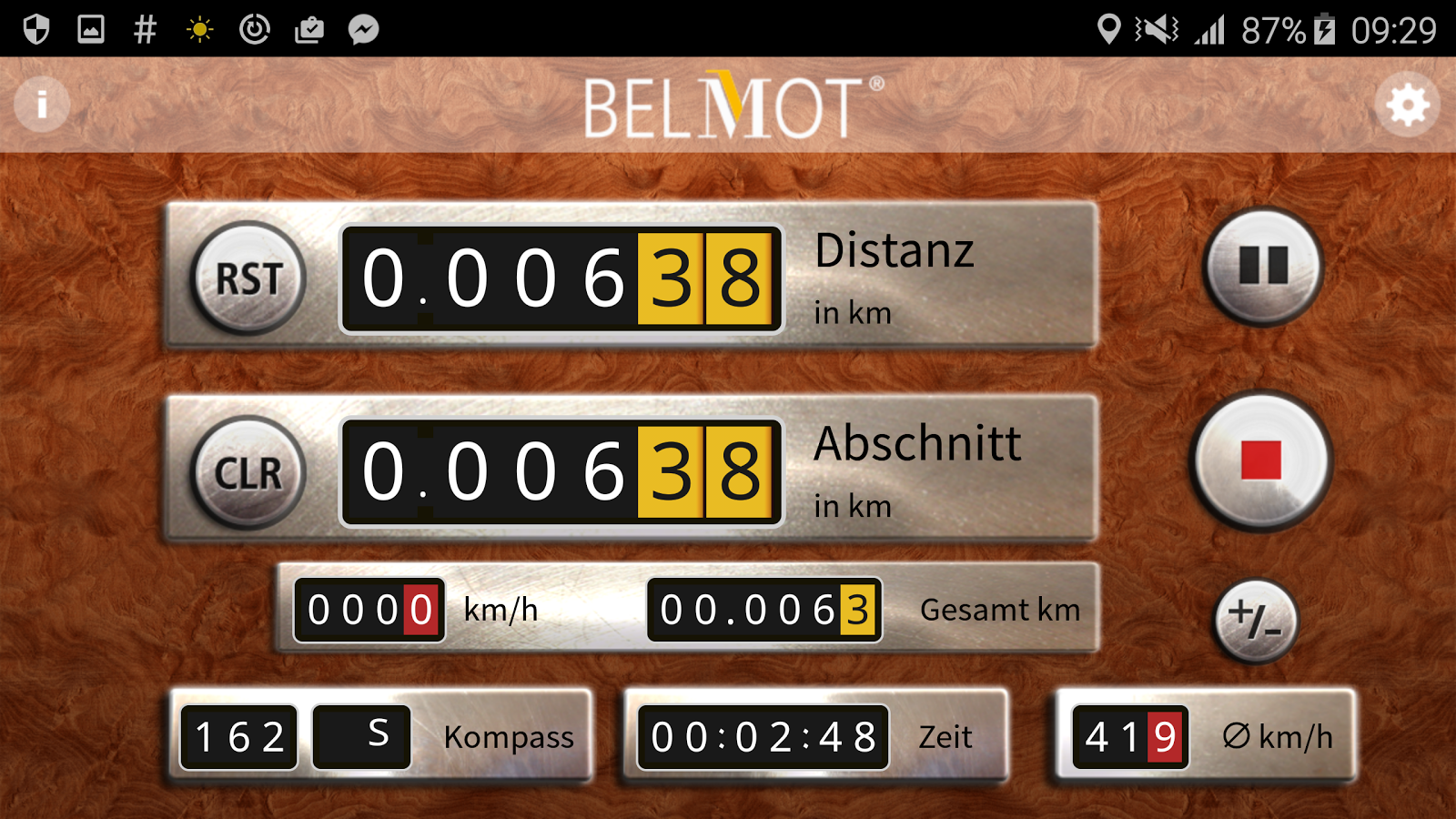 BELMOT RALLYE- screenshot