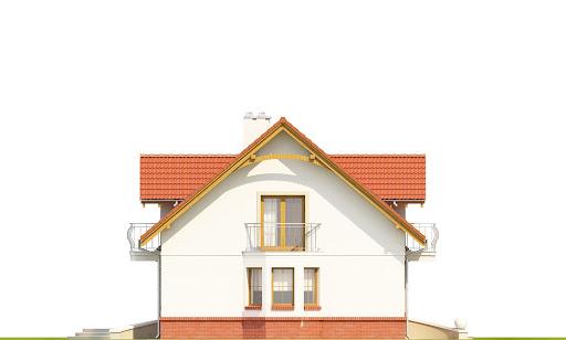 Dom Dla Ciebie 1 w2 z garażem 1-st. A - Elewacja lewa