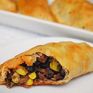 Corn, Black Beans & Beef Empanadas Recipe