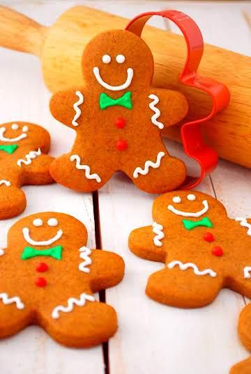 50 Perfect Gingerbread Men