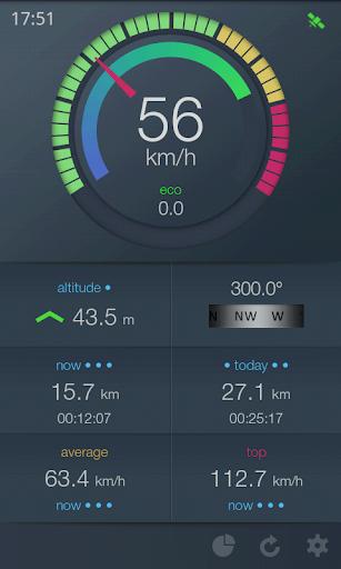 EcoDrive Free Speedometer screenshot 1