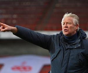 Peter Maes was tevreden met een punt van zijn STVV op Antwerp