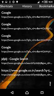 Shadow Browser screenshot