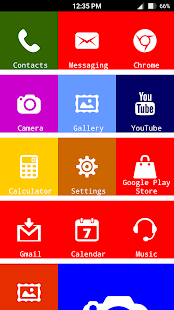X Launcher Metro Look - Themes- screenshot thumbnail
