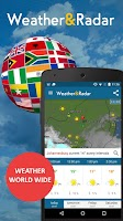 Screenshot of Weather & Radar