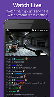 TChat for Twitch - náhled