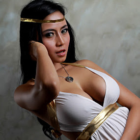 Godess in Action by Yohanes Arief Dewanto - People Fashion ( godess, greek )