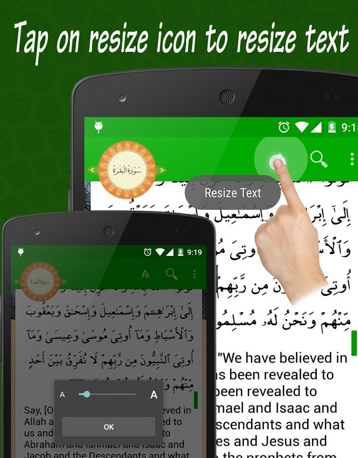 Al Quran 42 Languages +21 Qari- screenshot