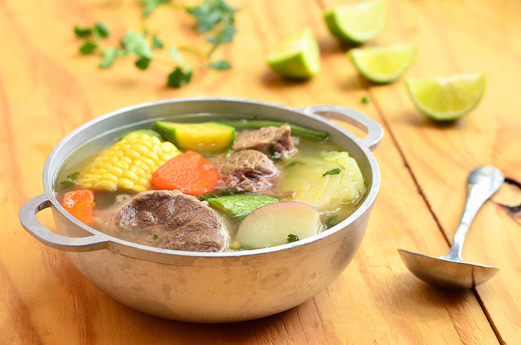 Caldo De Res (Mexican Beef Soup) Recipe