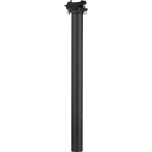 Salsa Guide Carbon Seatpost, 27.2 x 350mm, 0mm Offset, Black