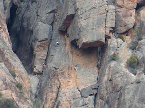 Photo: Can u c the mountain climbers?